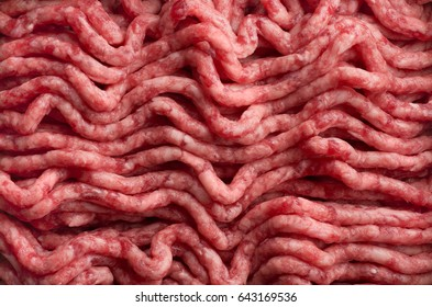 Backgrounds and textures: fresh homemade forcemeat, closeup shot, food abstract