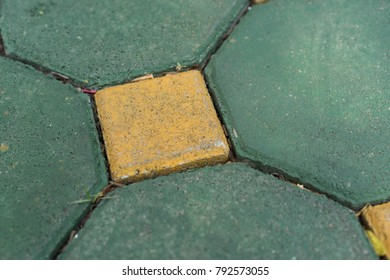 Backgrounds Textures hexagonal walkway