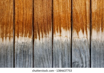 Backgrounds and textures: multicolor weathered wooden planks, exterior wall of rustic building