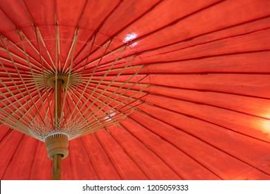 Backgrounds Textures umbrella wood red