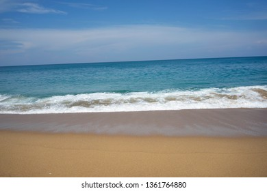 Backgrounds Water wave sea beach Phuket Thailand