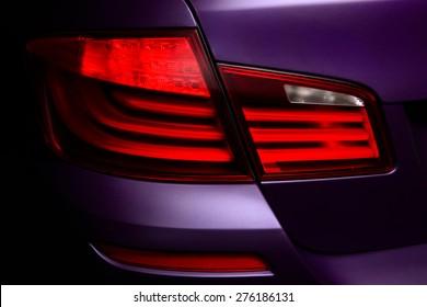 Backlight of sport car