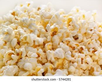 Back-lit Popcorn background