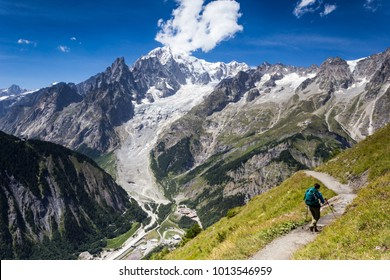 Backpacking the Tour du Mont Blanc is way better when you have a dear friend close to you. The views are more astonishing if you have someone to share them with.