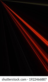 Backround abstract with red lightrail