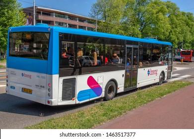 Backside Breng Bus At Amsterdam The Netherlands 2019