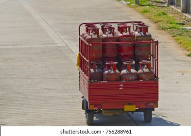 Gas Cylinder Delivery Images Stock Photos Vectors Shutterstock