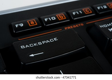 Backspace key