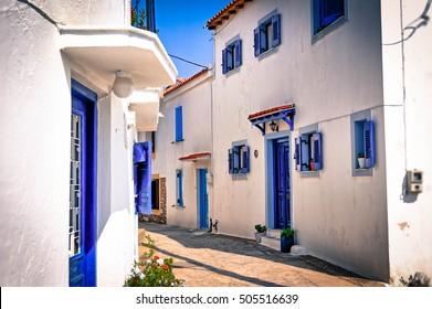 Backstreet, Skiathos, Greece