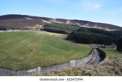 Backwater Reservoir, Angus, Scotland