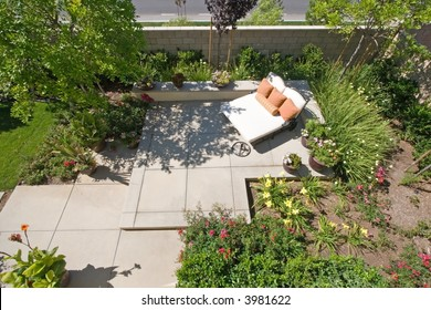 Outstanding Patio Oasis Images Stock Photos Vectors Shutterstock Theyellowbook Wood Chair Design Ideas Theyellowbookinfo