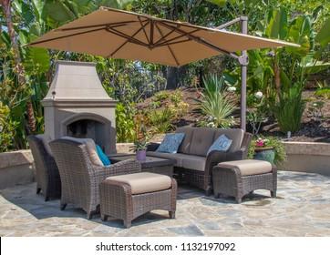 California Backyard Patio Furniture.Patio Umbrella Images Stock Photos Vectors Shutterstock