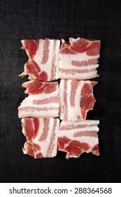 bacon raw