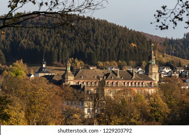bad berleburg in autumn germany