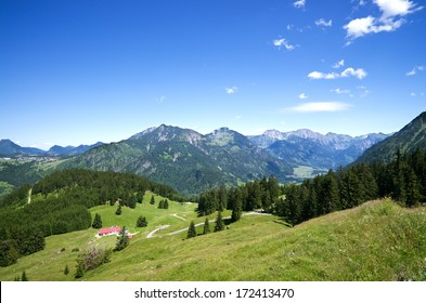 """""""Bad Hindelang"""", """"Hinterstein"""", """"Rauhorn"""", """"Ponten"""", mountains, in """"Oberallgau"""", """"Allgau"""", bavarian alps, germany"""