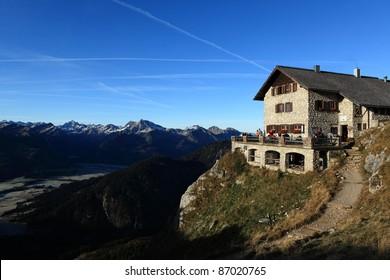Bad Kissinger Hütte im Tannheimer Tal Österreich
