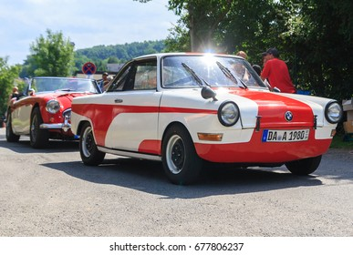 BAD KOENIG - JULY 09:  Classic car festival, Bad Koenig, Germany  July 09, 2017