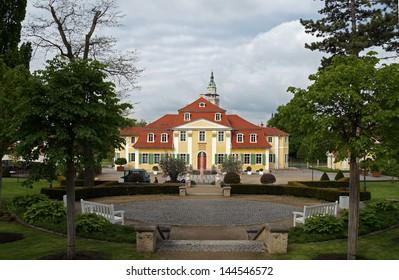 Frederikenschl�¶sschen  in Bad Langensalza in Thuringia in Germany