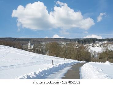 Bad Marienberg in Westerwald,Rhineland-Palatinate,Germany