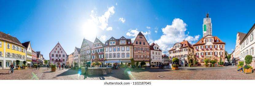 Bad Mergentheim, Market, Germany