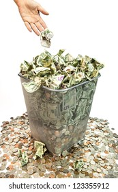 Bad purchases, band investments, bad loans, it all amounts to throwing away your money.