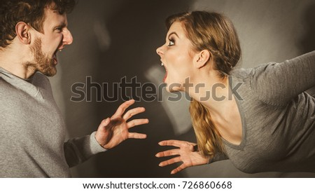 yelling and screaming in relationships