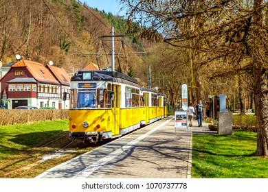 Bad Schandau, Sächsische Schweiz, Germany