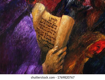 BAD URACH, GERMANY - OCTOBER 21, 2014: The prophet Isaiah, the Old Testament, detail of high altar by Sieger Koder in St. Joseph's Church in Bad Urach, Germany