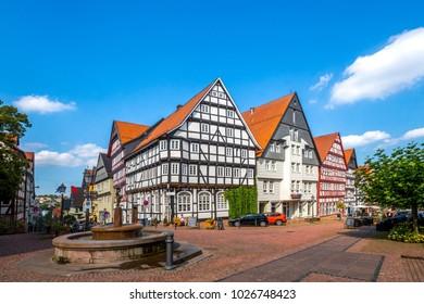 Bad Wildungen, Old City, Germany