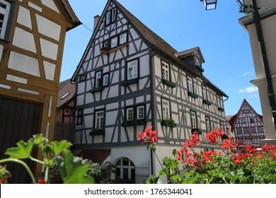 Bad Wimpfen, historische Altstadt  in Baden Württemberg mit staufischer Geschichte