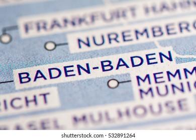 Baden-Baden. Germany