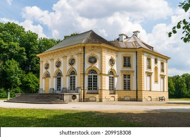 The Badenburg, one of the so-called Parkburgen at the area of the famous Nymphenburg Castle in Munich