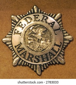 Badge for a Federal Marshall