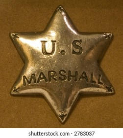 Badge for a US Marshall