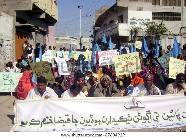 Badin Pakistan Dec 20 Supporters Fisher Stock Photo (Edit Now) 67604929