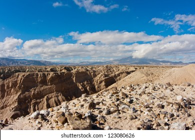 Badlands in Anza-Borrego Desert State Park