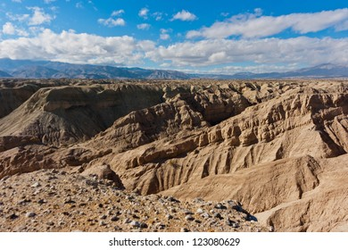 Badlands in Anza-Borrego Desert State Park