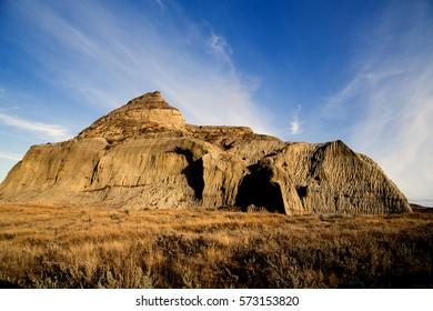 Badlands Canada Saskatchewan Big Muddy Castle Butte