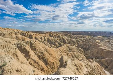 Badlands National Park Overlook View