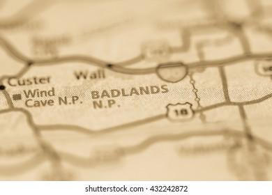 Badlands National Park. USA