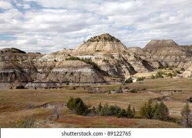 The Badlands in Theodore Roosevelt National Park, North Dakota