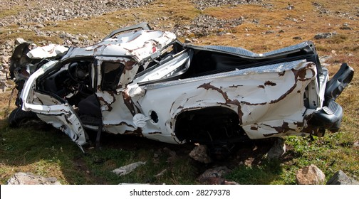 Pickup Truck Crash Images Stock Photos Vectors Shutterstock