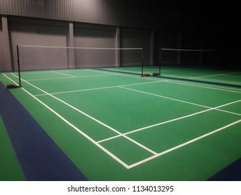 badminton court indoor