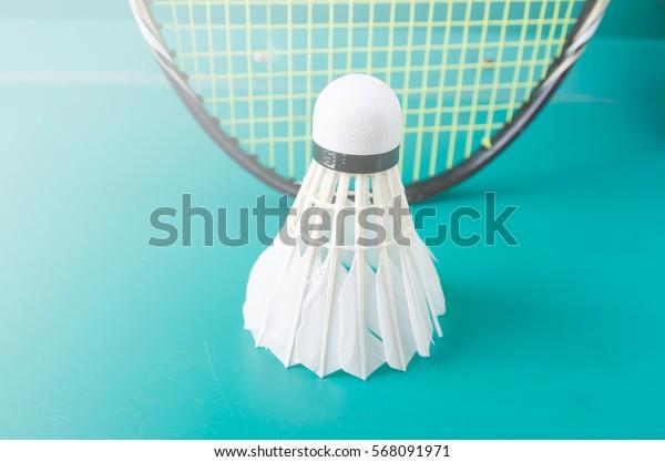 badminton playing court