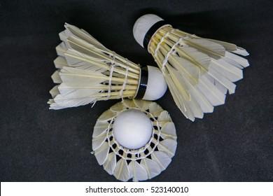 Badminton shutter cock