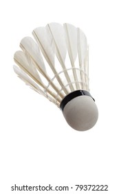 Badminton with white background
