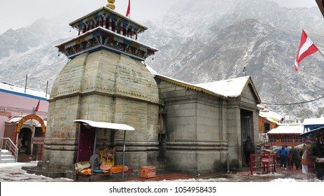 Badrinath Dham from backside