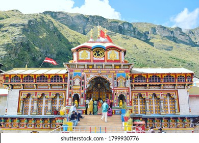 Badrinath temple chamoli uttarakhand india 26 September 2019