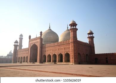 Badshahi mosque in Lahore ,Punjab ,  Pakistan