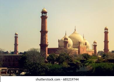 Badshahi Mosque, Lahore, Punjab-Pakistan on 27th July, 2016